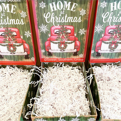 Christmas gift boxes, decorative boxes, wrapping