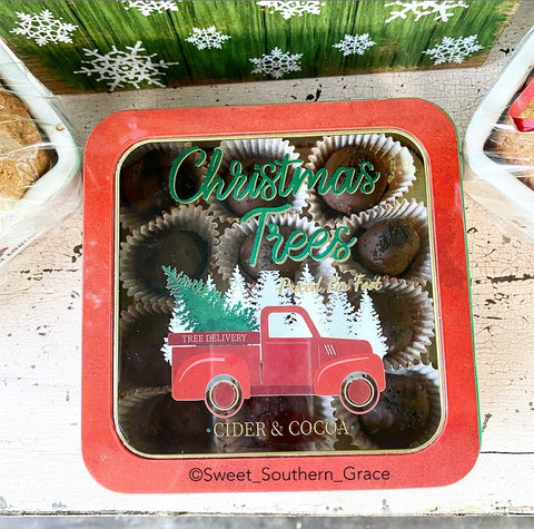 Gift box, recipes, gift ideas for Christmas