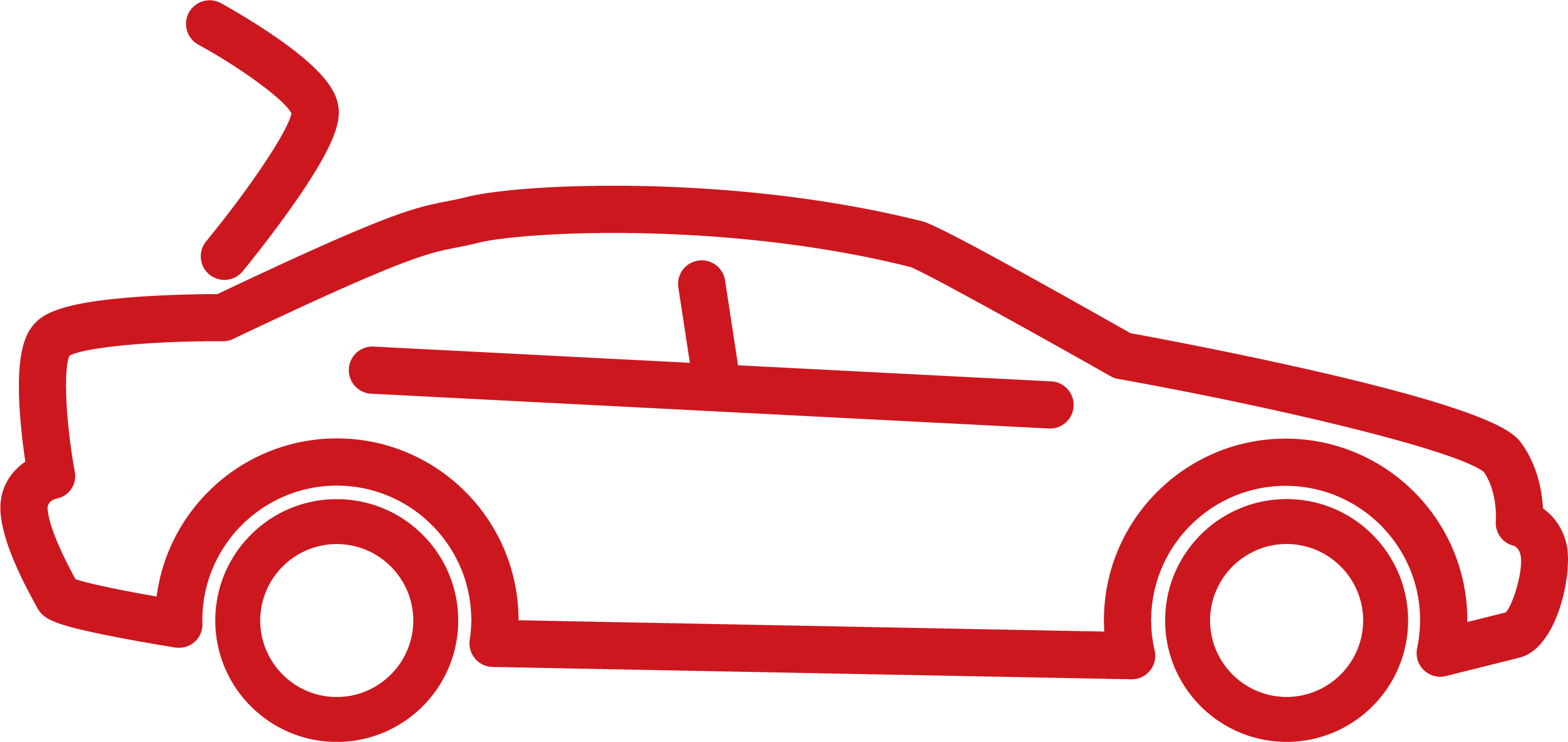 red car illustration