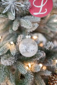 frosty fun Christmas ornaments