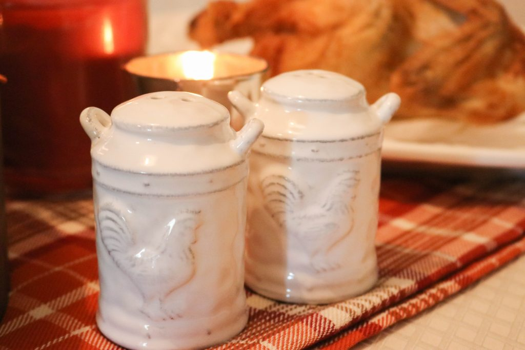 ceramic containers with a farm feel