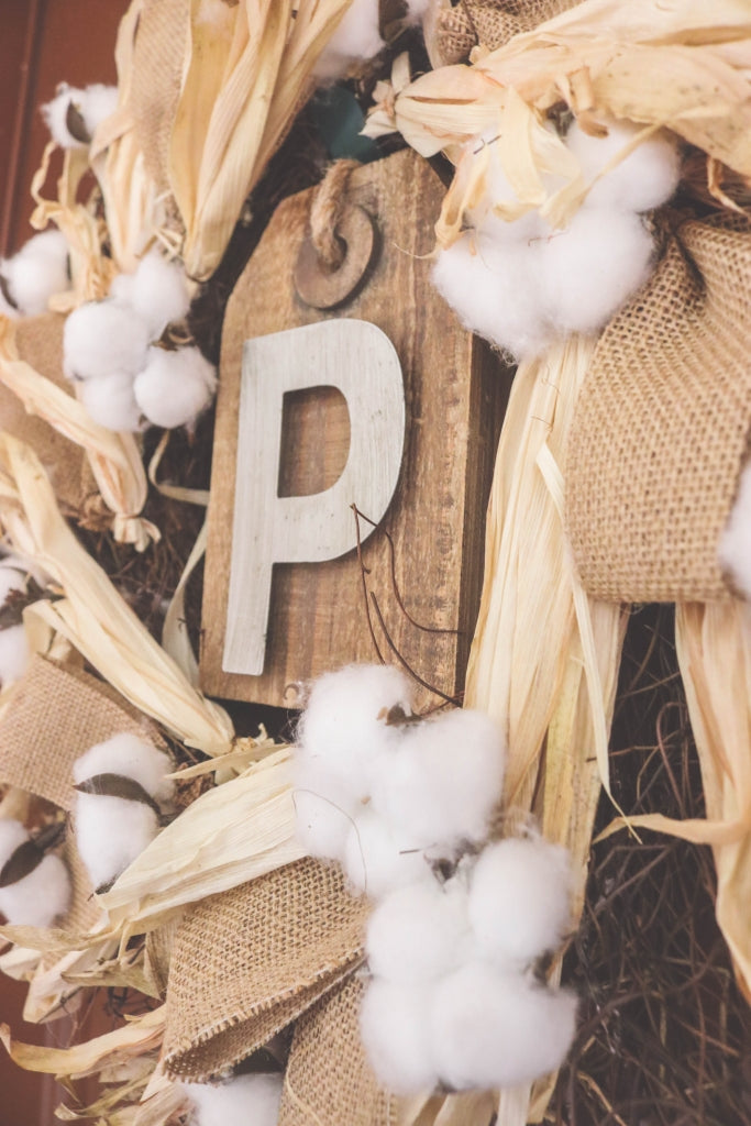 A statement letter for your fall porchscape