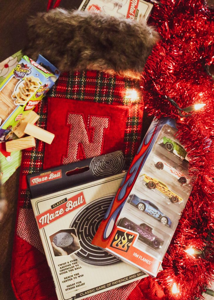 Toy cars and vintage maze puzzles are great gifts for boys