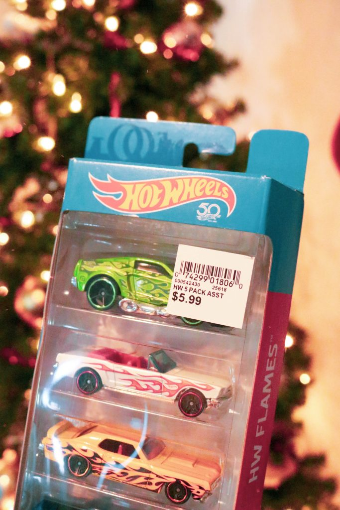 Hot Wheels with flaming detail
