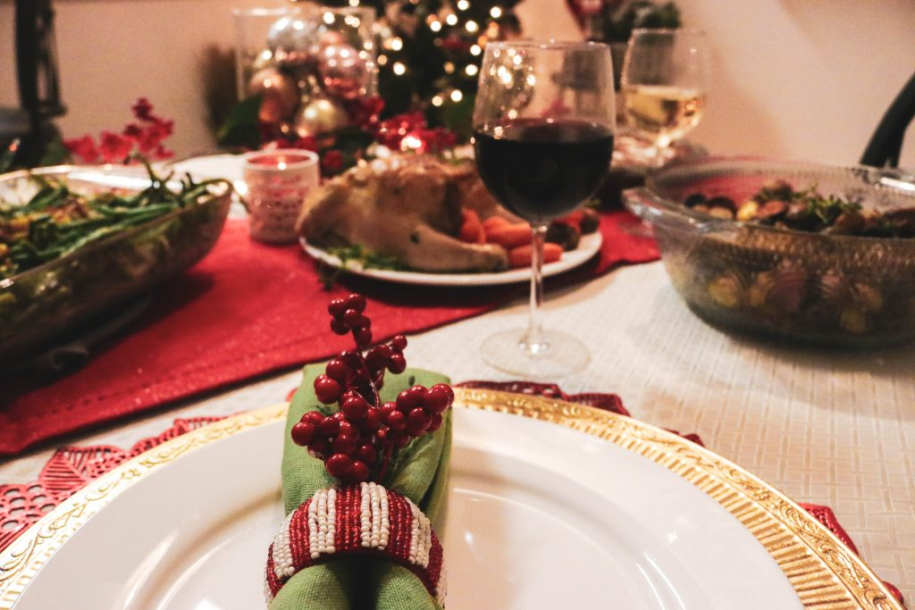 warm and cozy holiday dining