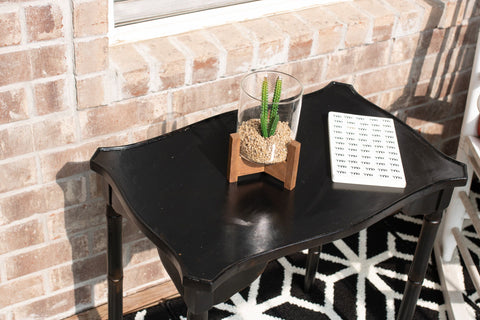 accent table, patio refresh