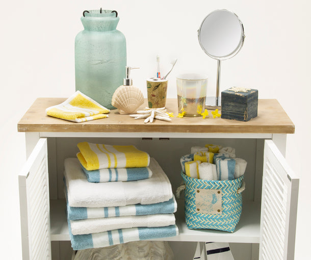 Makeup mirrors, wash cloths, toothbrush holders. Everything you need to accessorize your bathroom is at OTP!