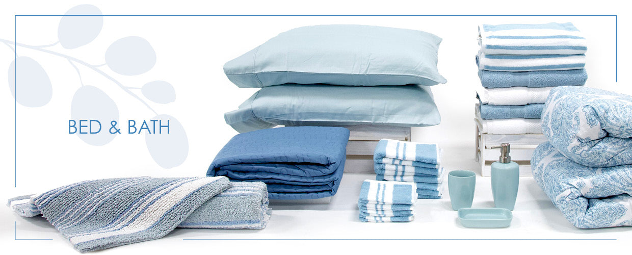buy bedding and bath linens