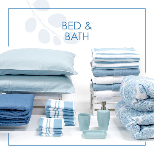 bedding and bath linens