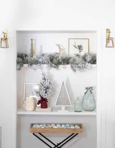 christmas decorating ideas, home accents