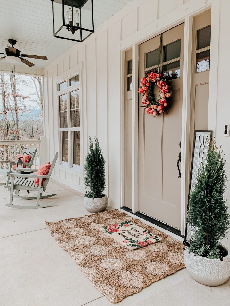 we're mad about this spring porch makeover
