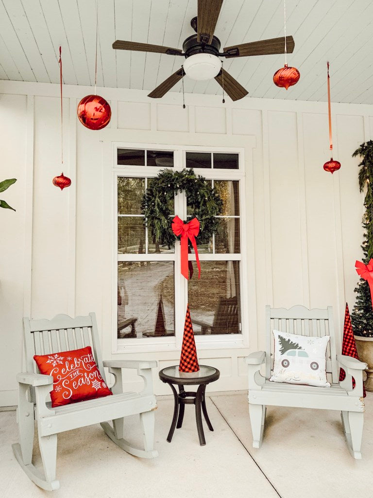 throw pillow, holiday pillows, front porch