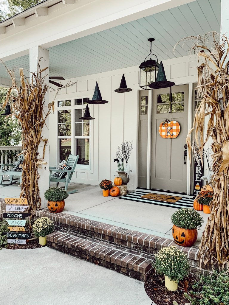 Enter a world of spooky décor if you dare