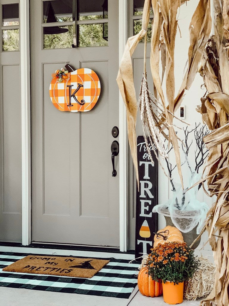 trick or treat, halloween decor, spooky porch