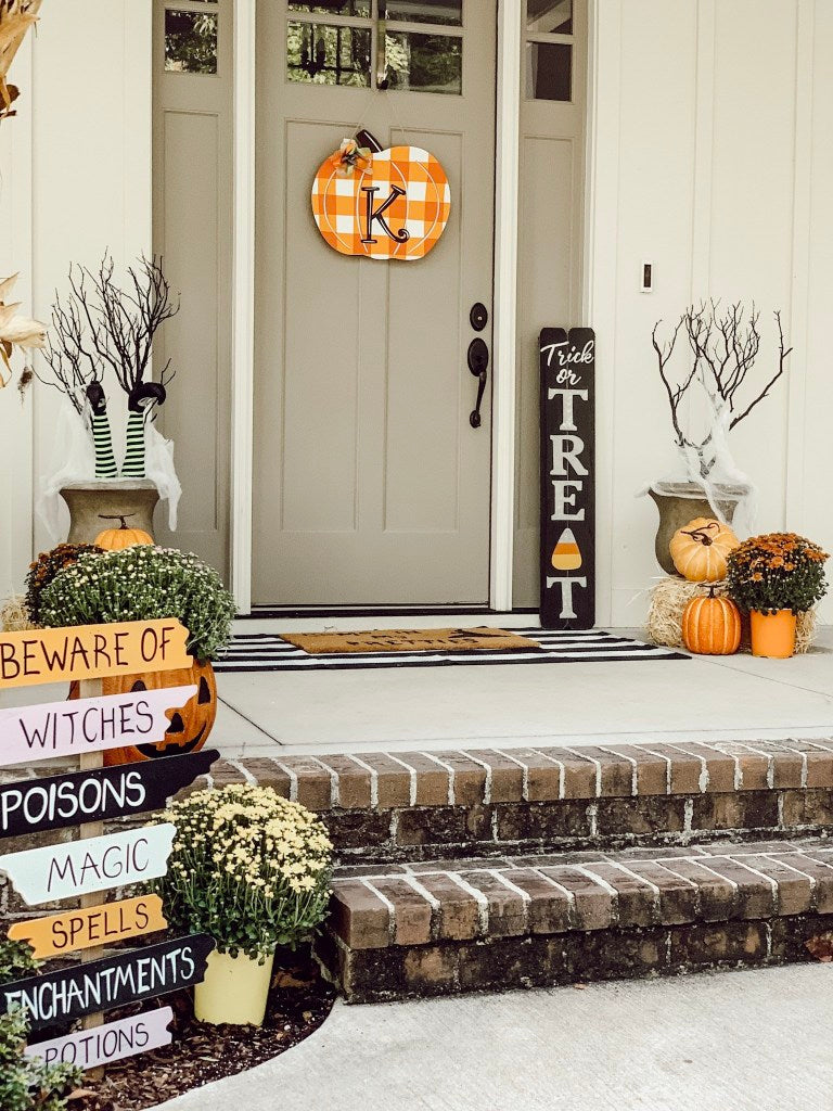this spooky Halloween décor is quite a treat