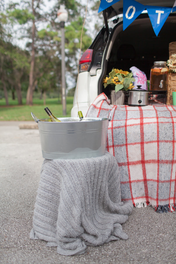 Chilled wine to go with your tailgate party