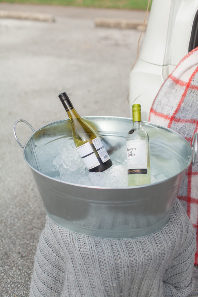Chilled wine for tailgating fun