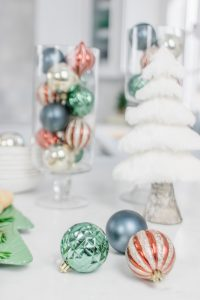 Christmas party ornaments liven up any party