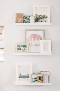 the perfect picture ledge display