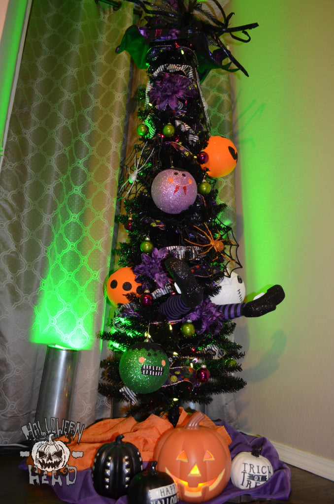 Old Time Pottery Halloween tree