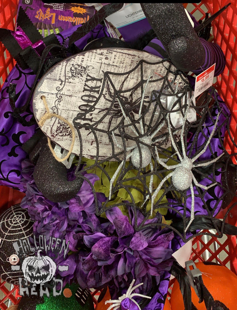 Spooky spiders and other Halloween goodies