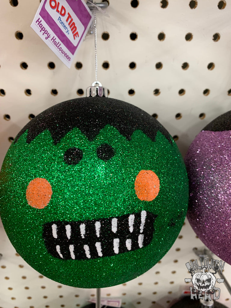 A scary Frankenstein ornament