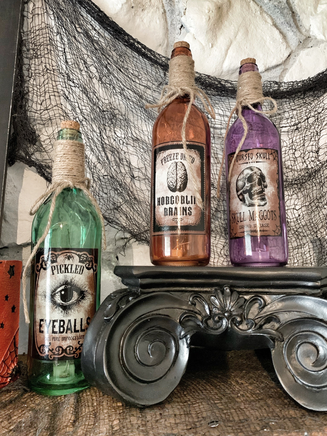 Scary witchtastic tonics and potions