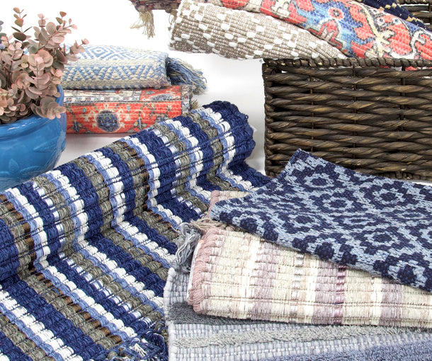 These smaller rugs are perfect for fitting into snug spaces & adding that extra special something to a room.