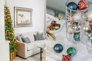 holiday hosting, Christmas decor