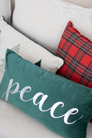 christmas decor, throw pillows, holiday couch