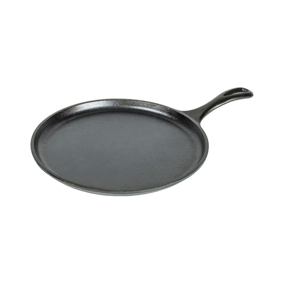"Lodge 10.5"" Round Cast Iron Griddle"