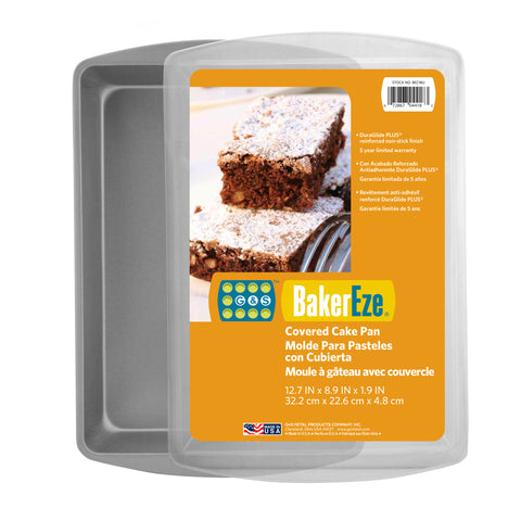 Baker Eze® Non-Stick Covered Cake Pan