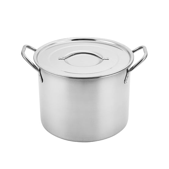 Alpine Cuisine Gourmet Stainless Steel Stock Pot (4 Sizes)