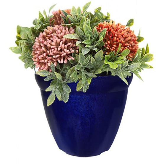 "11.6"" Metallic Glaze Planter (3 Colors)"