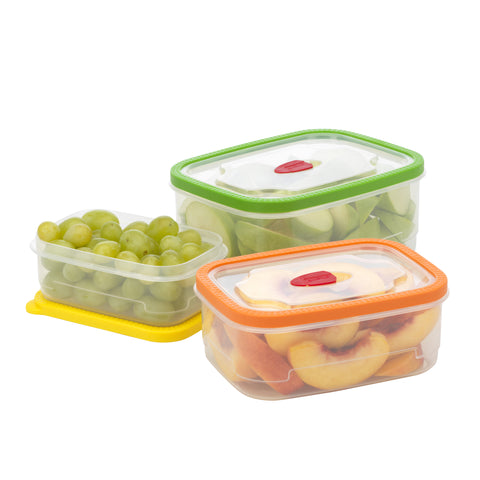 Goodcook Flextrim 6pc Food Storage Rectangle