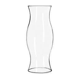 "4.5"" Clear Glass Hurricane Candle Holder"