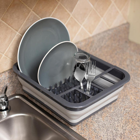 Collapsable Dish Rack