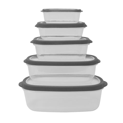 Farberware 10pc Vented Food Storage (3 Colors)
