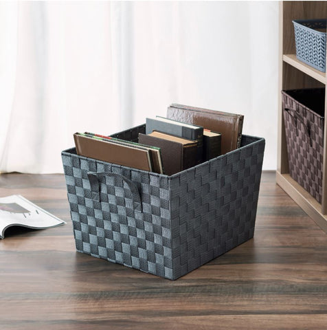 Woven Strap Storage Bin XLG  (3 Colors)