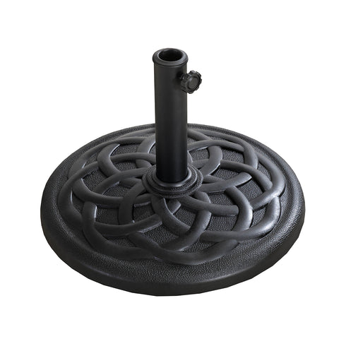 "18"" Umbrella Base Black"
