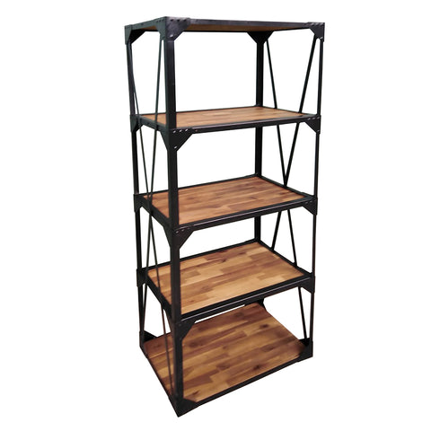 Maxwell 5-Shelf Bookcase