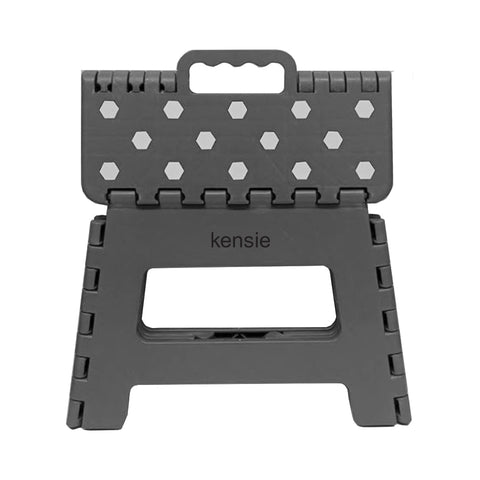 "9"" Step Stool Kensie Folding Gray"