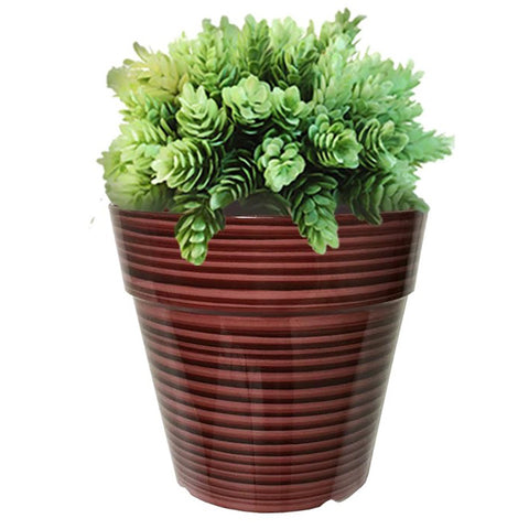 "10"" Glazed Line Planter (3 colors)"