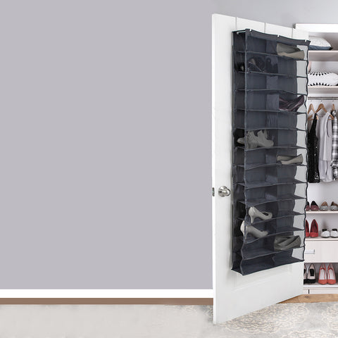 26-Pair Shoe Rack