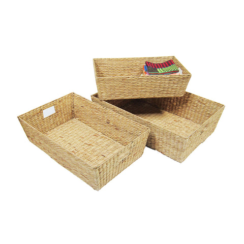 Water Hyacinth Tray (3 Sizes)