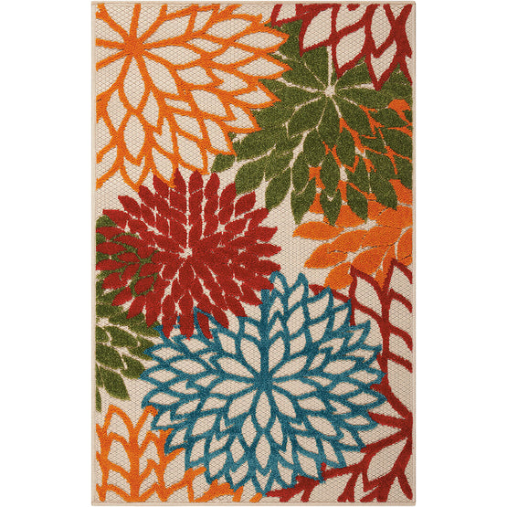Aloha Green Indoor Outdoor Rug