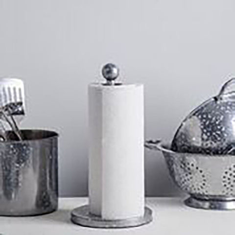 Paper Towel Holder Grey Speckle