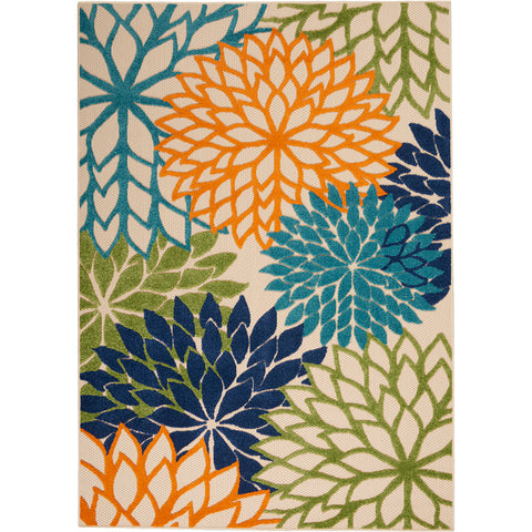 Aloha Floral Indoor Outdoor Rug