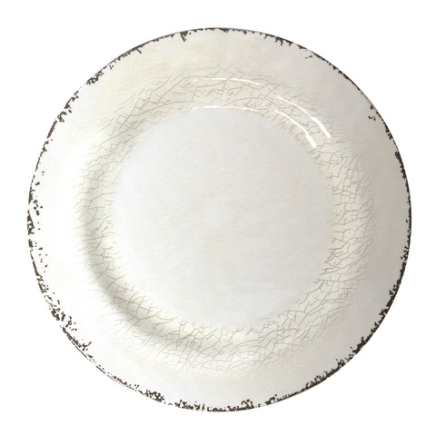 11 inch Rustic Melamine Dinner Plate (5 colors)