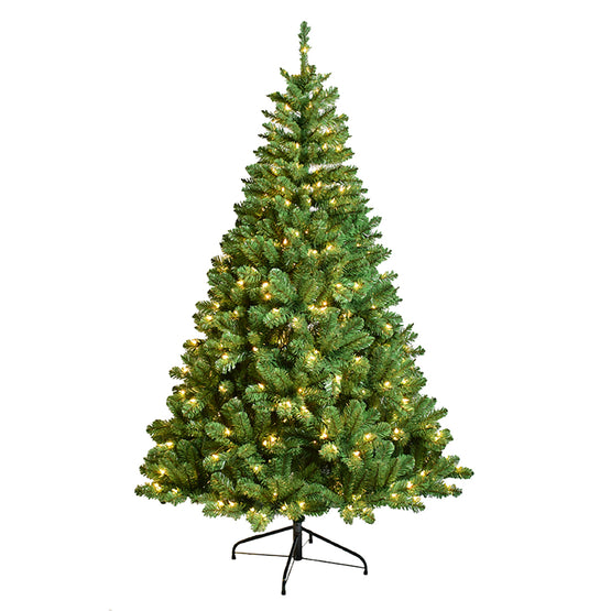 6' Pre-Lit Christmas Tree with Clear Lights